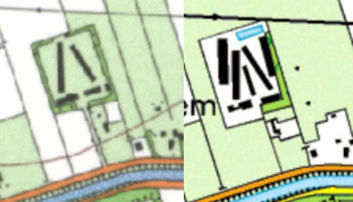 kaart geesbrug1994-2000