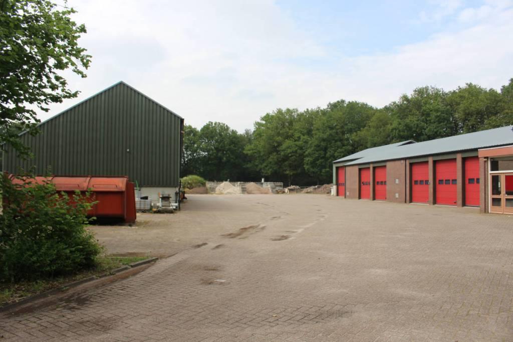 De lokatie van het kamp Lage Mierde, nu de gemeentewerf.