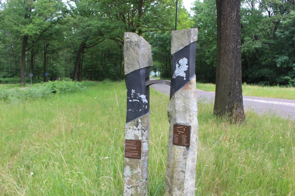 Monument ter herinnering aan het Molukse woonoord Lage Mierde