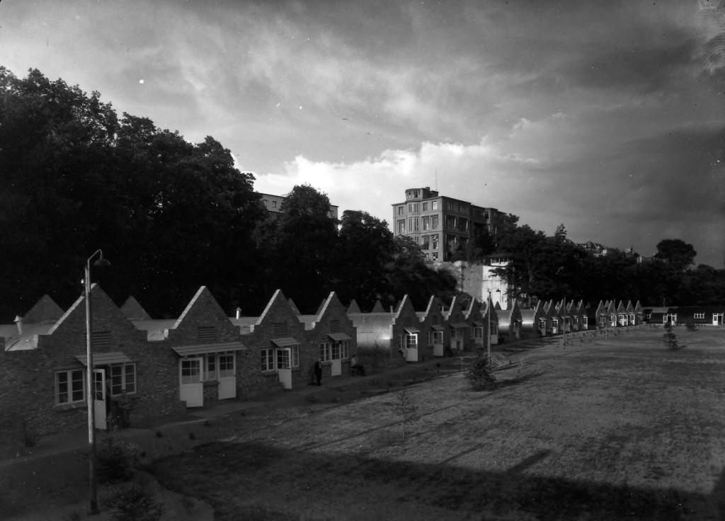 Het kamp onderlangs in 1947 (foto via Herman Schonewille).