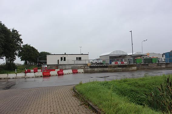 De huidige lokatie van woonoord Snodenhoek te Elst, waar nu gemeentewerf is.