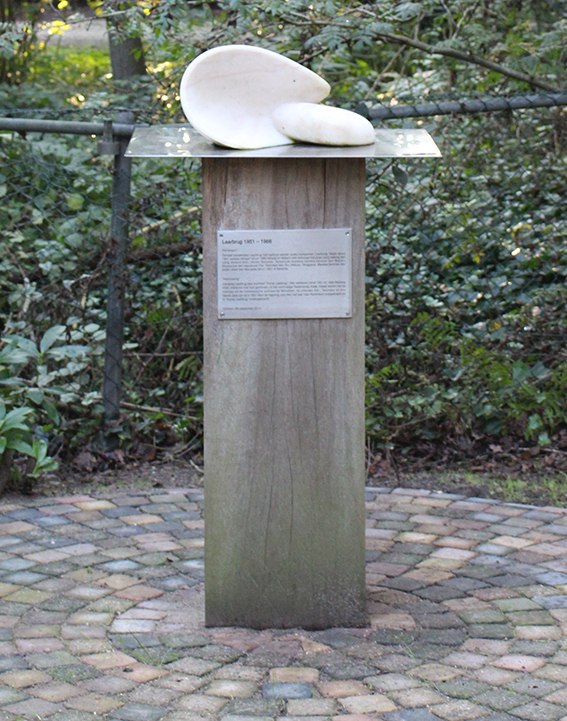 Monument voor het Molukse kamp Laarbrug geplaatst in 2012.