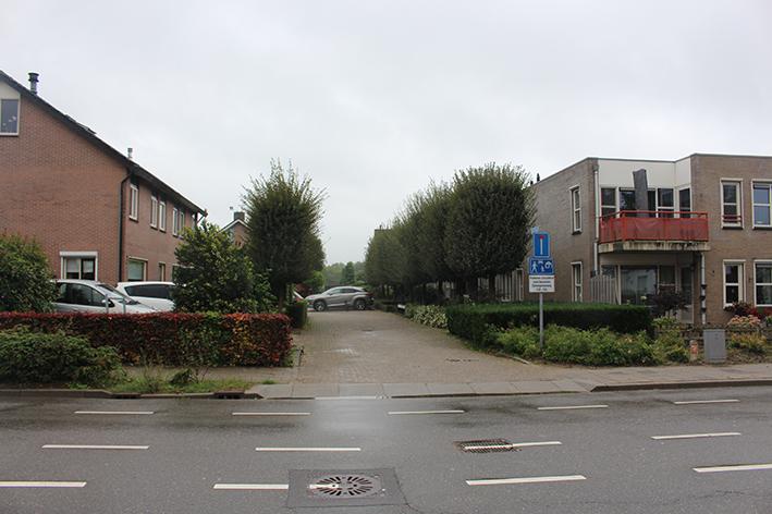 De locatie van woonoord Lingebrug is nu een woonerfje in Opheusden.